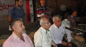 Rabi Younan Talia, Syria 28.8.2011 المنظمة الآثورية الديمقراطية