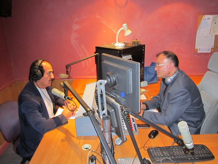 LISTEN NOW LIVE INTERVIEW WITH MR. SHIMON BARKHO ASSYRIAN SONG WRITER 22.1.2012