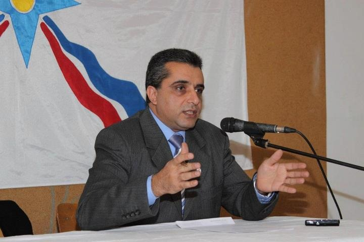 ASSYRIAN ACTIVIST MR. ASHUR GIWARGIS, LEBANON. ASSYRIAN MARTYRS
