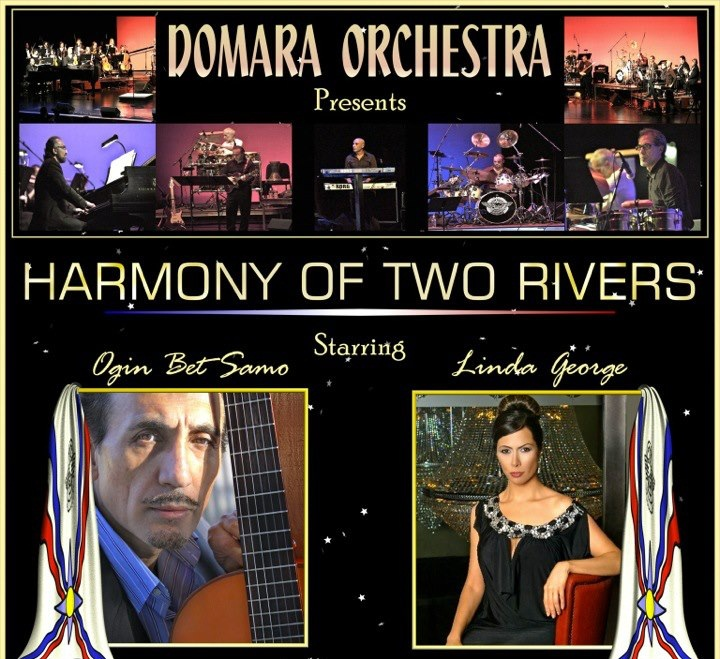 DOMARA ORCHESTRA HARMONY OF TWO RIVERS. 24.10.2012