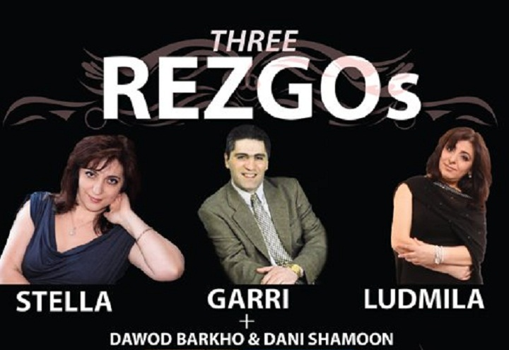 THREE REZGOS LIVE IN MOSCOW 30.9.2012
