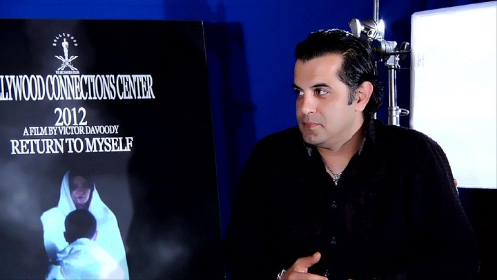 """"""" NOW LISTEN"""" TO BE OR NOT TO BE"""" MY SPECIAL INTERVIEW WITH ASSYRIAN DIRECTOR VICTOR DAVOODY, LOS ANGELES 29.8.2012"""