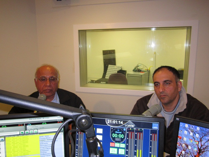 """NOW LISTEN"" INTERVIEW WITH NSW MP MR. ANDREW ROHAN AND CHARBEL SALIBA CANDIDATE FOR FCC 2.9.2012"