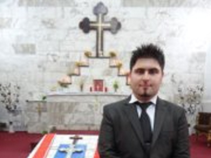 ORDINATION OF DEACON DANNY ESHAYA ON 26.10.2012 AT ST.MARY'S CHURCH BAGHDAD
