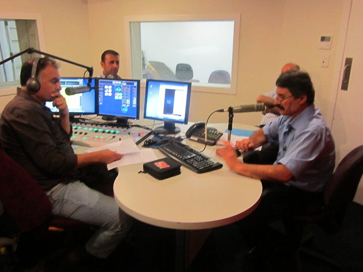 """ Now Listen"" Live debate with Dr. William Ishaya, and Mr. Sami Hawel at Nohadra radio 25.11.2012"