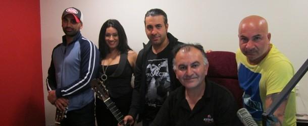 """Now Listen"" Assyrian Famous Bandoleros Band Meets Nohadra Radio Australia Live 10.2.2013"