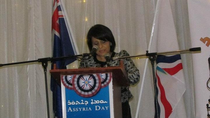 """"""" NOW LISTEN 21.7.2013"""" ASSYRIAN WELFARE OFFICER Ms. CARMEN LAZAR"""