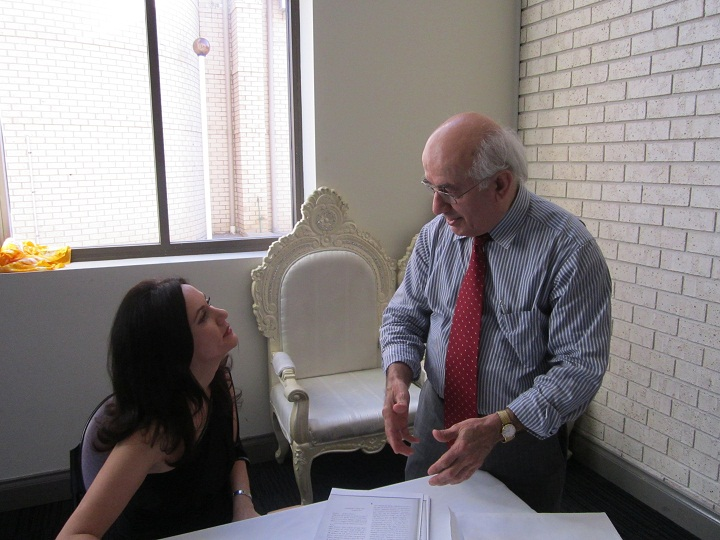 """ Now Listen"" Assyrian Literature Mr. Phillip Darmo, Sydney With Nohadra Radio Australia."