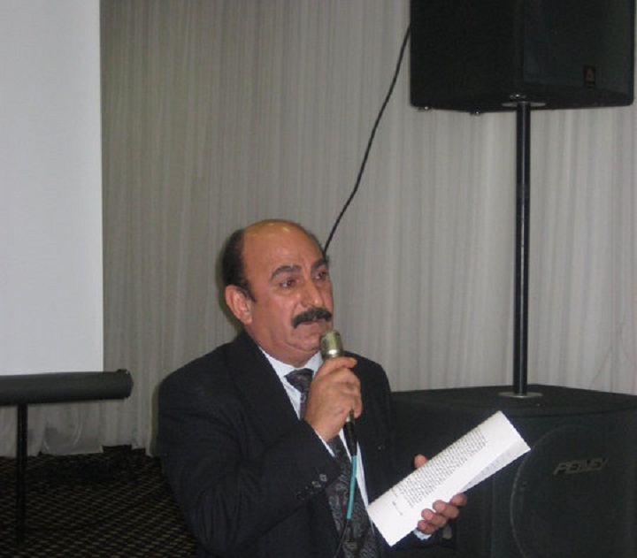 """Now Listen"" Mr Emmanuel Yacoub London. 31.8.2014 Talking To Nohadra Radio Australia."