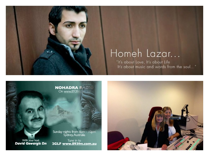 "Interview With Assyrian Singer Homeh Lazar Melbourne "" New Release Nineveh Clip """