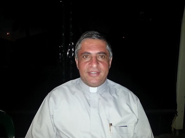 "Interview with Rev Gewargis Youkhana Assyrian Church of east "" Hadath Lebanon "" 15.2.2015"