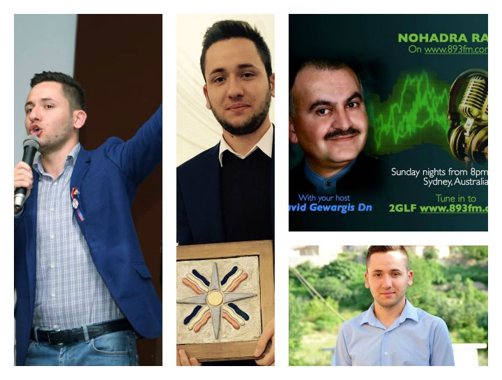 An exclusive interview to Radio Nohadra Australian with young Assyrian poet Khlapiel Benjamin 3.8.2015
