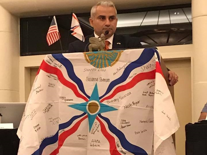 Interview with Mr. Martin Youmaran. President Assyrian American National Federation USA 1.9.2018