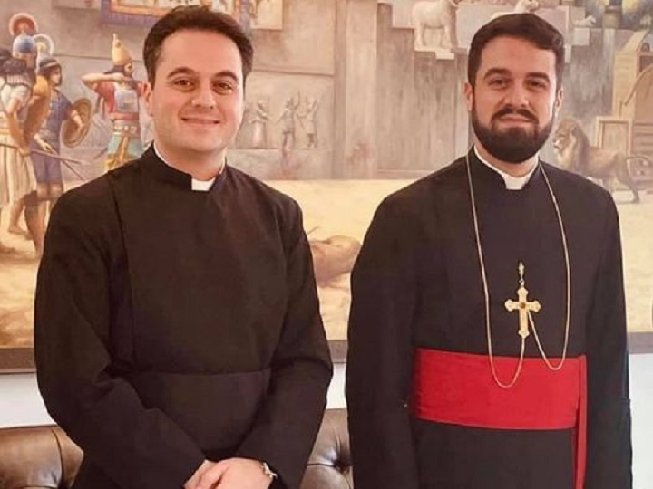 INTERVIEW WITH NEWLY ORDINATE PRIEST REV. FR. RAMEN YOUKHANIS. ASSYRIAN CHURCH OF EAST 19.9.2020