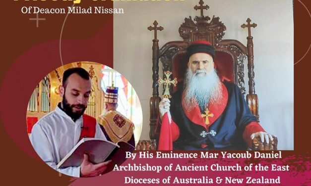 St. Zaia Cathedral Of Ancient Church Australia, News And Updates With Deacon James Tomas 12.9.2020