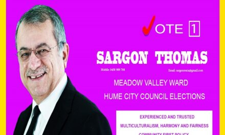 Nohadra radio interview with Hume City council candidate, Mr. Sargon Thomas. Victoria 10.10.2020