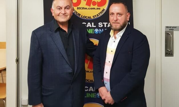 Nohadra Radio Australia Interview Dr. Firas Georgis PHD, Political Science Iraq. 2018